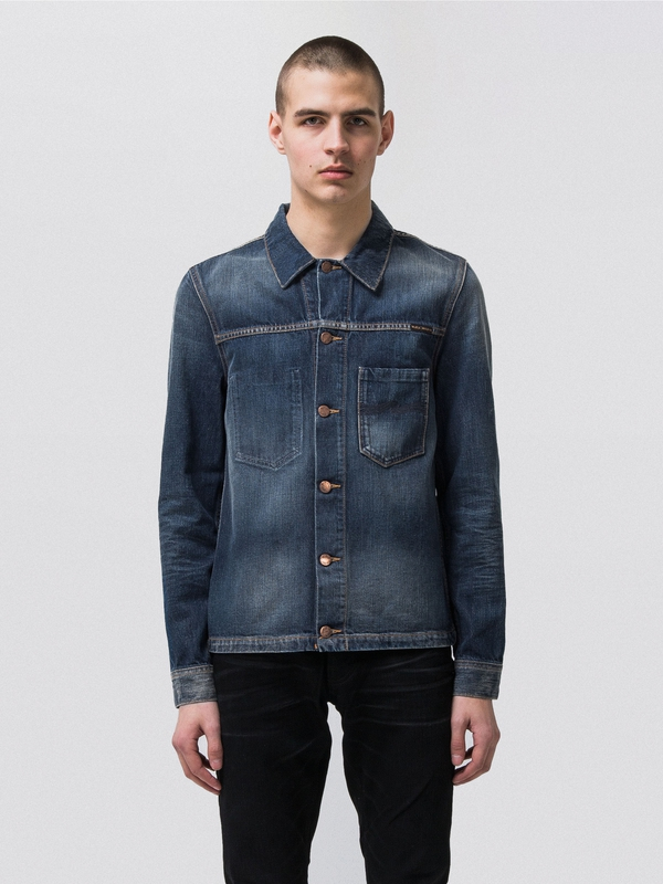 Ronny Worn Authentic Denim prewashed denim-jackets