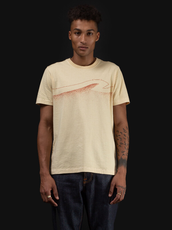 Roy Colors Raw White short-sleeved tees