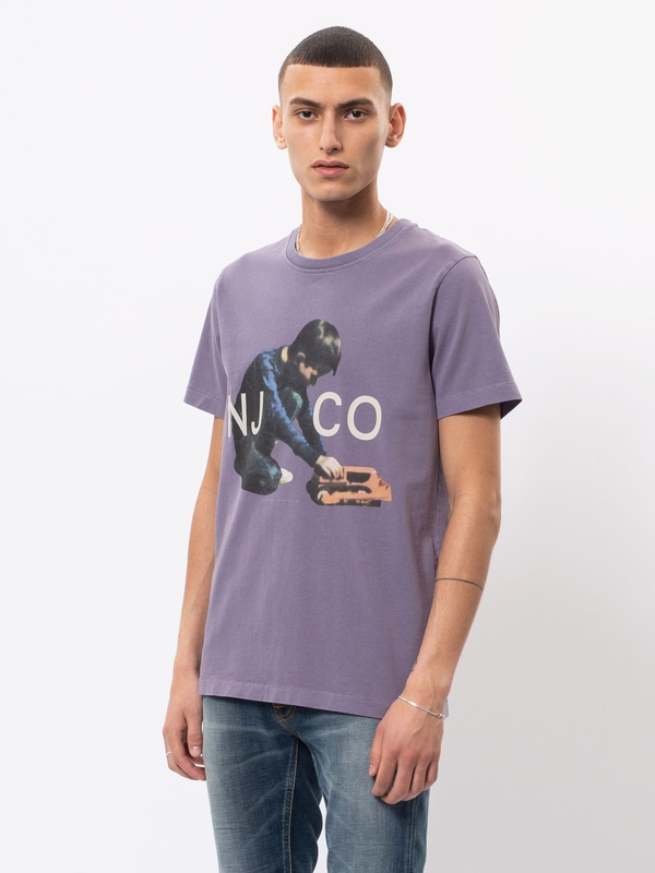 Roy Logo Boy Lilac t-shirts tees