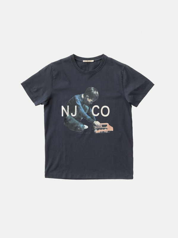 Roy Logo Boy Navy short-sleeved tees printed