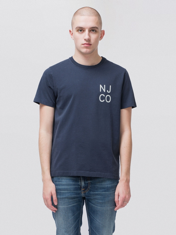 Roy NJCO Navy short-sleeved tees