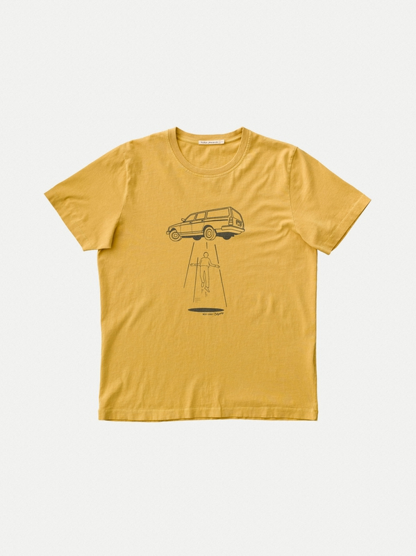 Roy Station Wagon Turmeric short-sleeved tees printed
