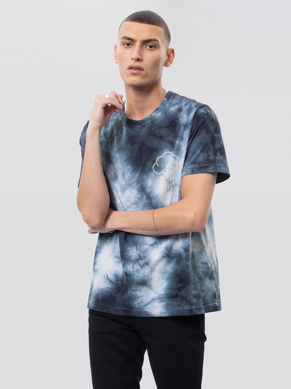 Roy Meanwhile Tie Dye Blue t-shirts tees