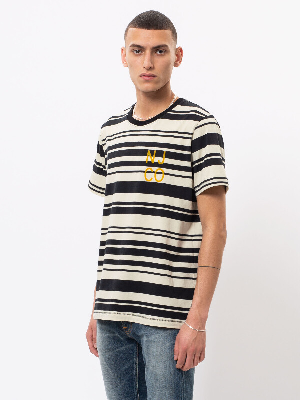 Roy Barcode short-sleeved tees