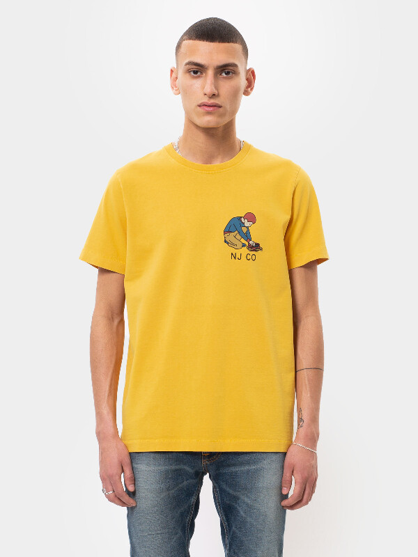 Roy Multi Logo Boy Dandelion short-sleeved tees