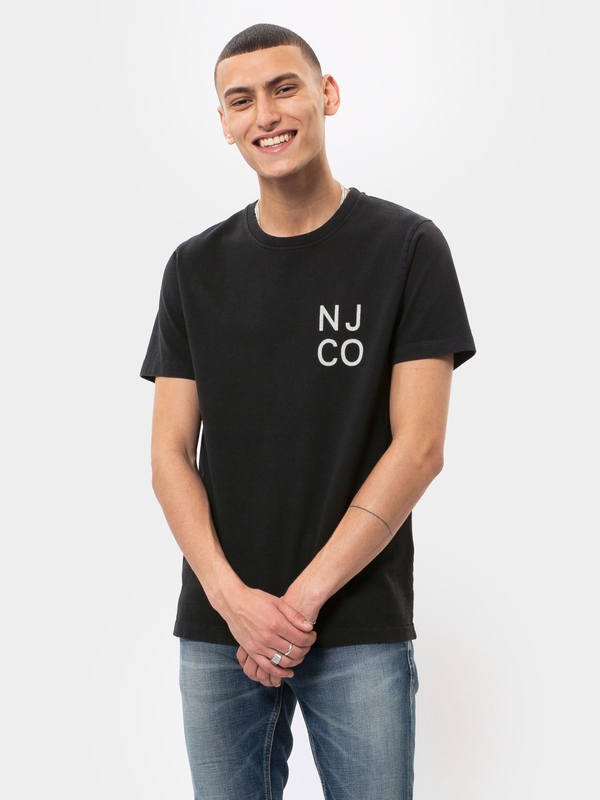 Roy NJCO Black short-sleeved tees