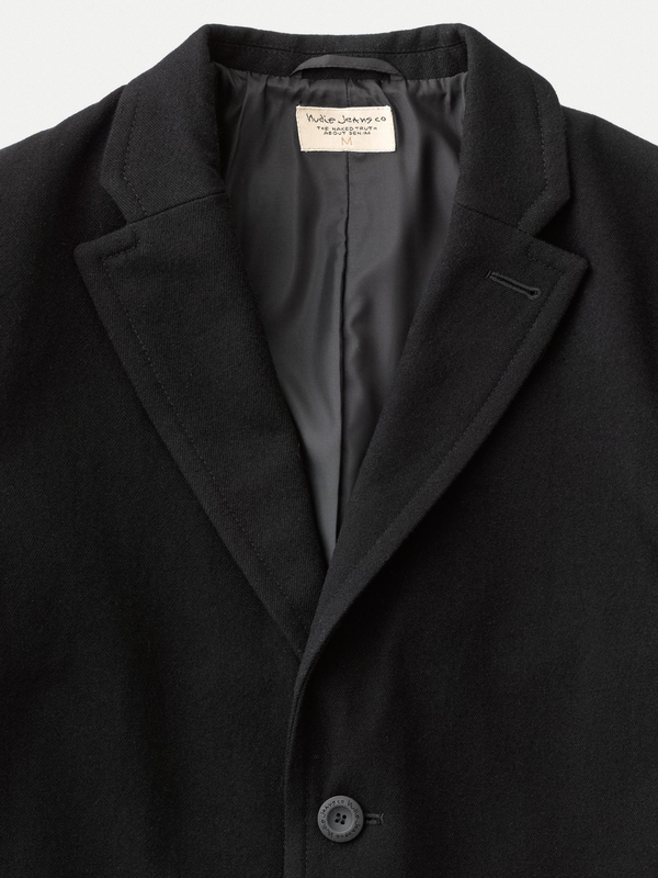 Ruben Wool Coat Black