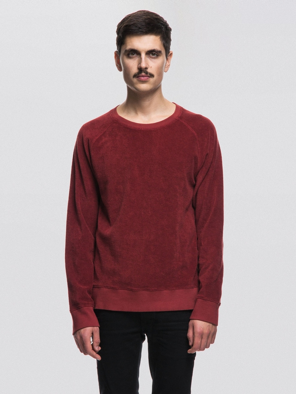 Samuel Terry Mantle Red sweatshirts sweaters