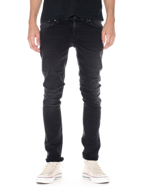 Skinny Lin Black Habit prewashed jeans