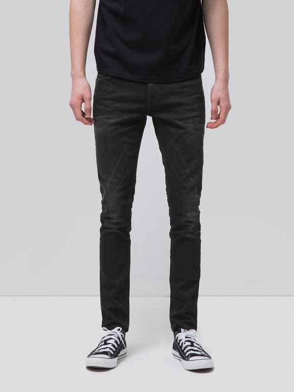 Skinny Lin Black Shadow black jeans