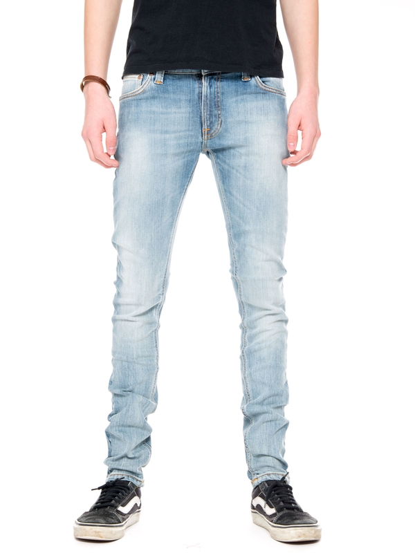 Skinny Lin Crispy Orange prewashed jeans