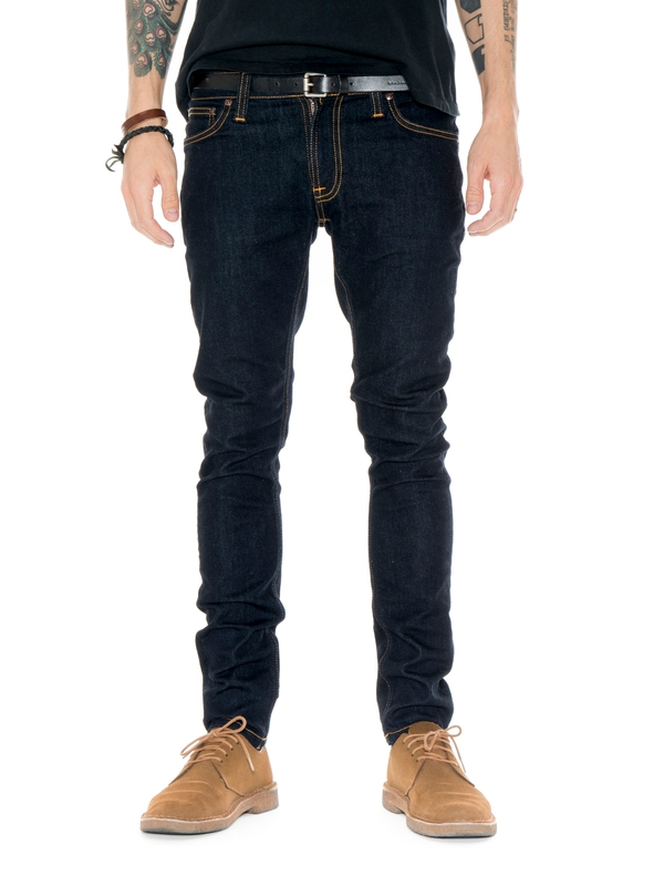Skinny Lin Dry Deep Orange dry jeans