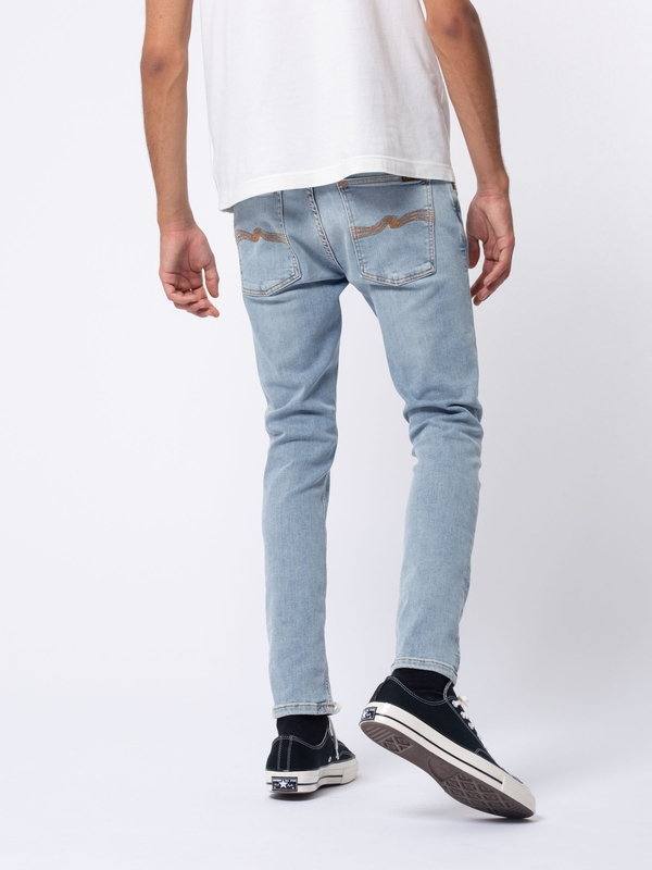 Skinny Lin Light Stone Pwr prewashed jeans