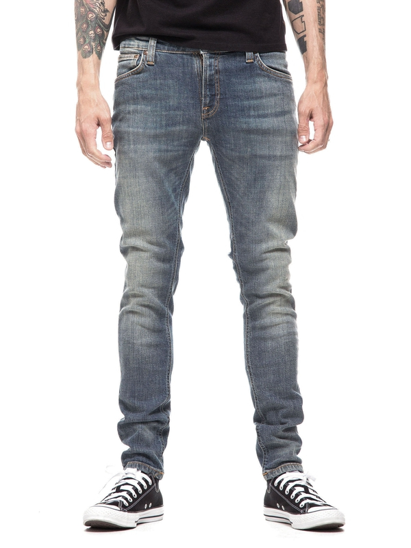 Skinny Lin Shimmering Fall prewashed jeans