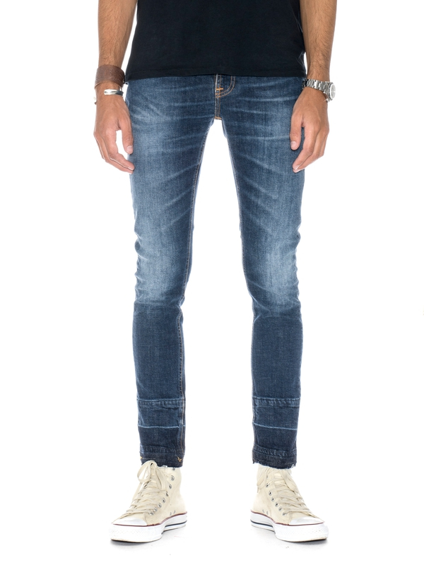 Skinny Lin Turn Downs prewashed jeans