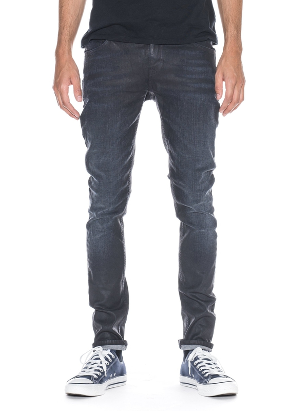 Skinny Lin Ink Black prewashed jeans