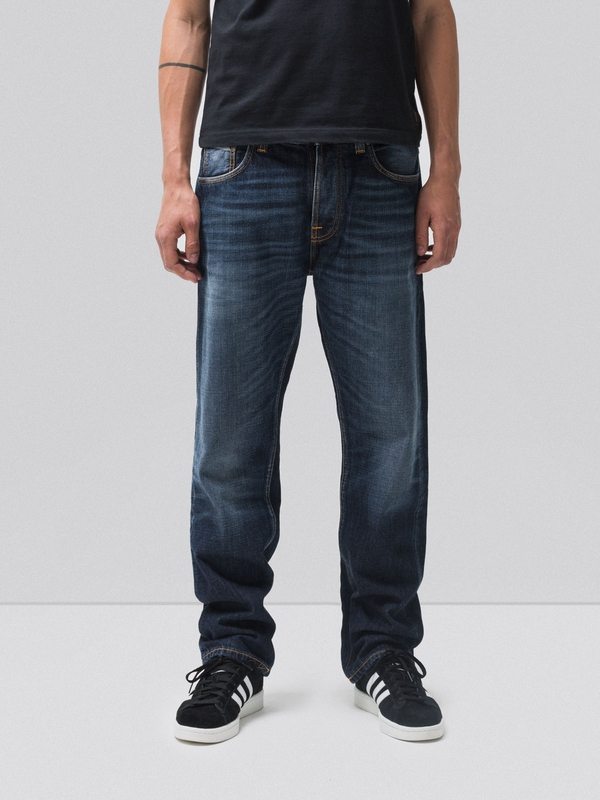 Sleepy Sixten Authentic Dark prewashed jeans