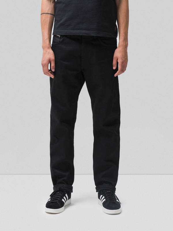 Sleepy Sixten Dry Black Selvage black jeans