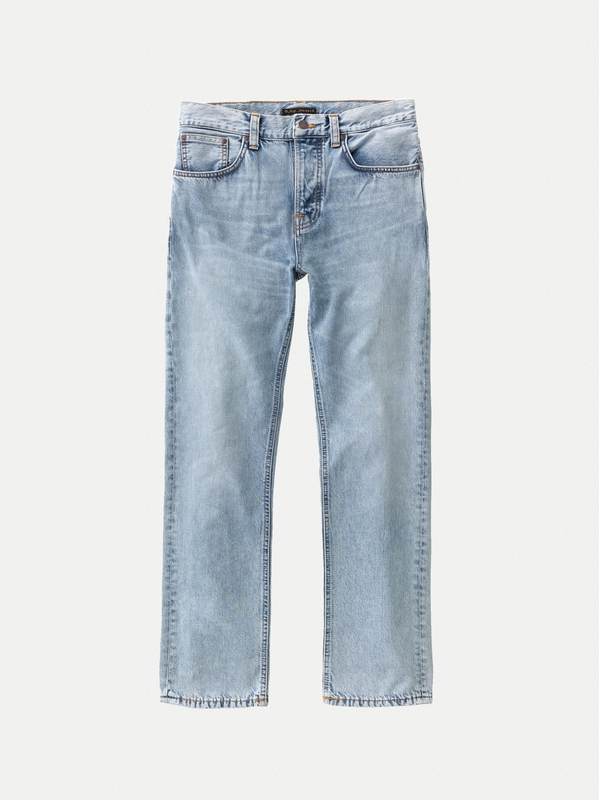 Sleepy Sixten Light Stone prewashed jeans