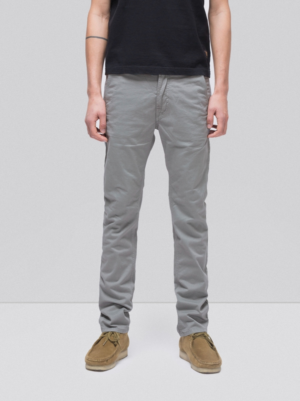 Slim Adam Ash Grey slim canvas