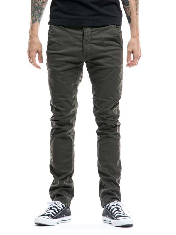 Slim Adam Dark Desert Green canvas