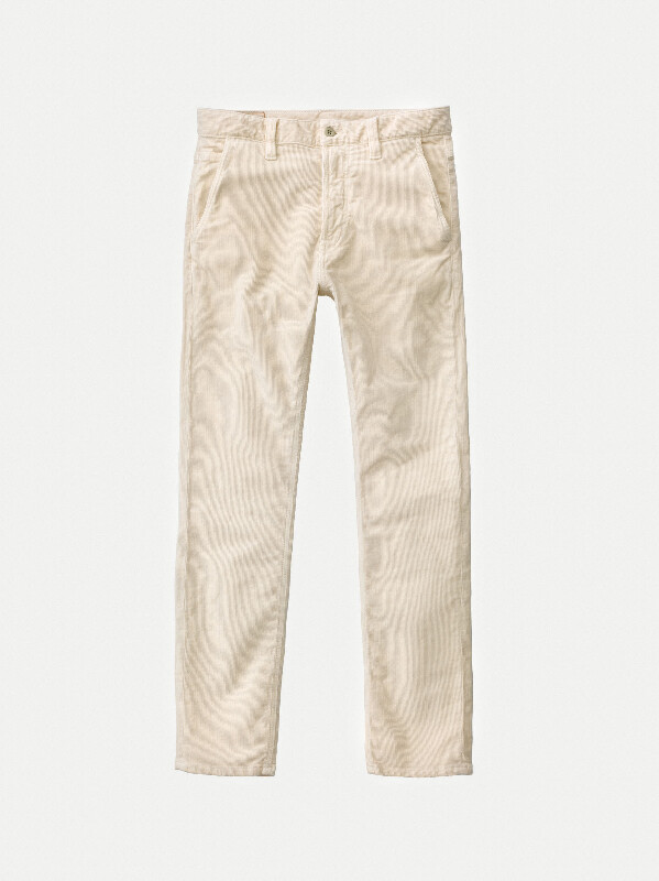 Slim Adam Dusty White prewashed jeans