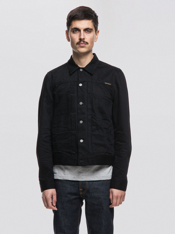 Sonny Crinkle Black black denim-jackets