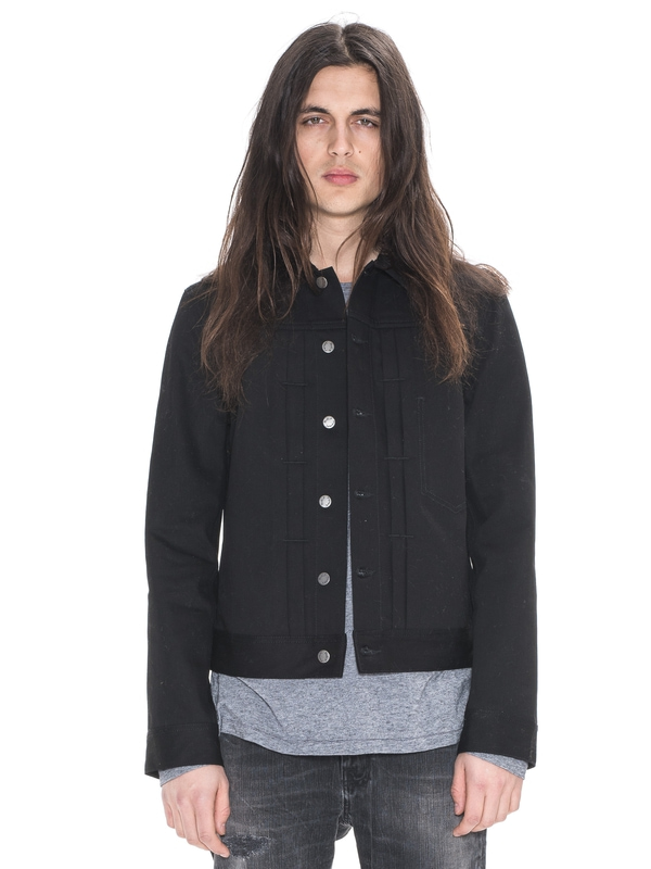 Sonny Dry Black Black black denim-jackets