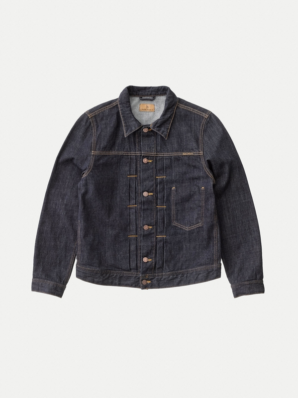 Sonny Rinse Blue prewashed denim-jackets