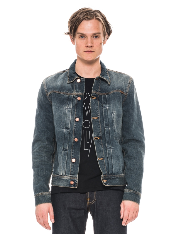 Sonny Blue Friend Denim prewashed denim-jackets