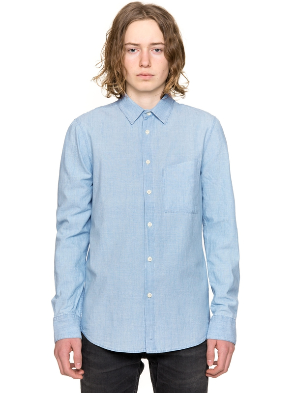 Stanley Light Shade Chambray Denim shirts