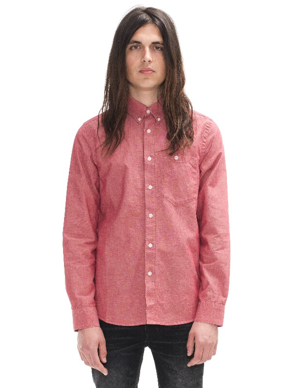 Stanley Red Chambray Red shirts