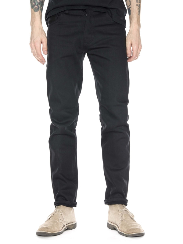 Steady Eddie Dry Black Selvage black jeans selvage