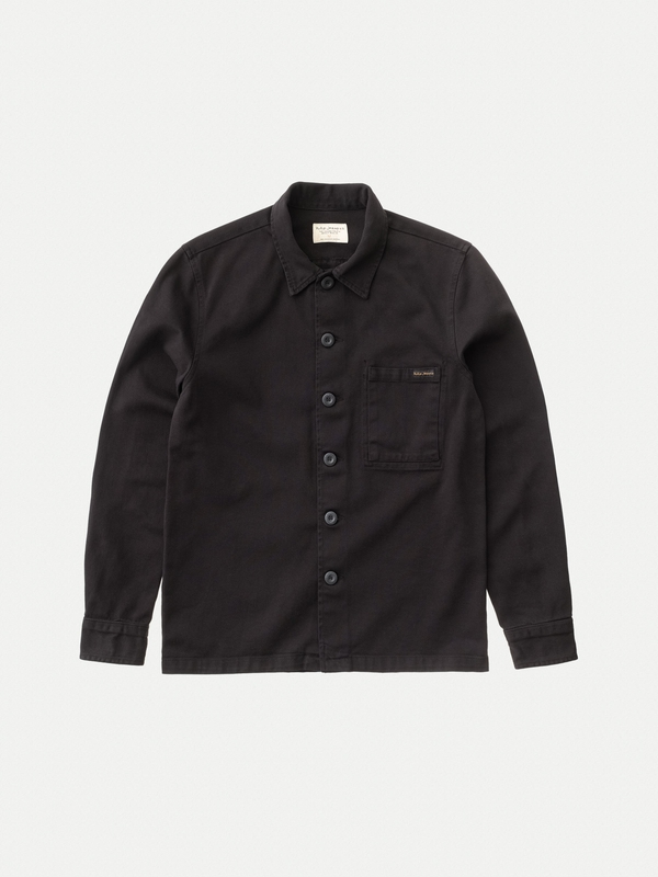 Sten Army Twill Black