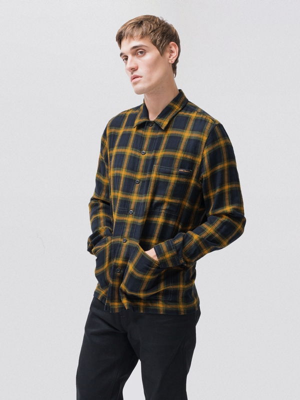 Sten Black Watch long-sleeved shirts