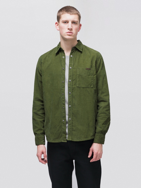 Sten Cord Lawn long-sleeved shirts