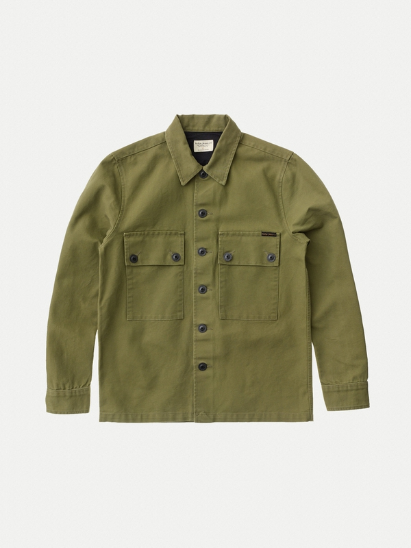 Sten Swedish Army Shirt Army Yellow long-sleeved shirts