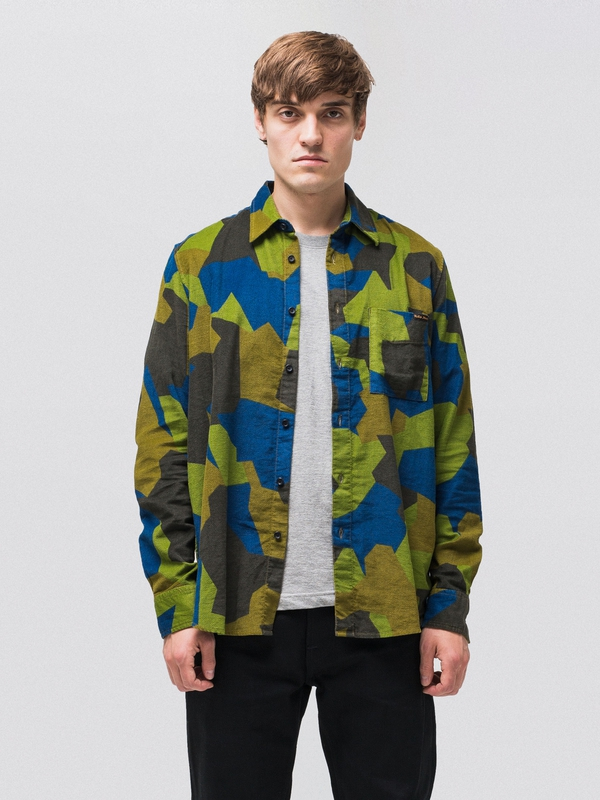 Sten Swedish Camo Multi shirts