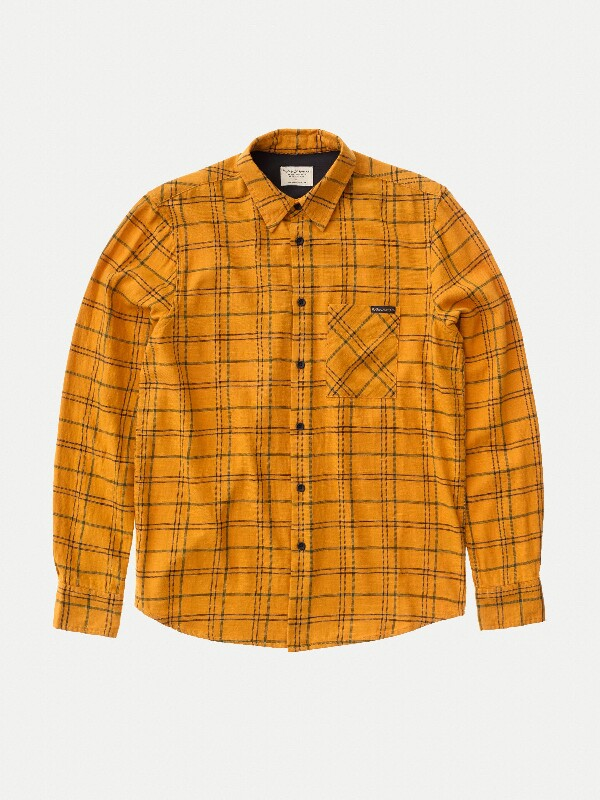 Sten Tartan Check long-sleeved shirts