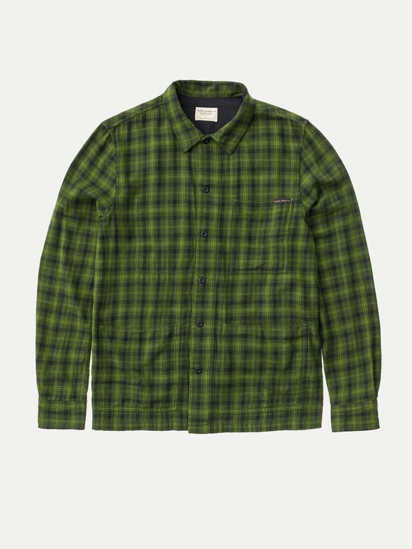 Sten Tonal Check long-sleeved shirts