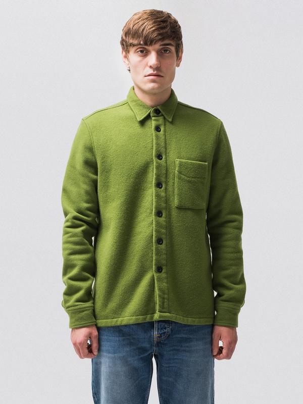Sten Wool Overshirt Pea shirts