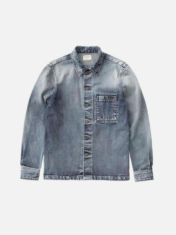 Sten Worn Authentic Denim shirts long-sleeved-denim