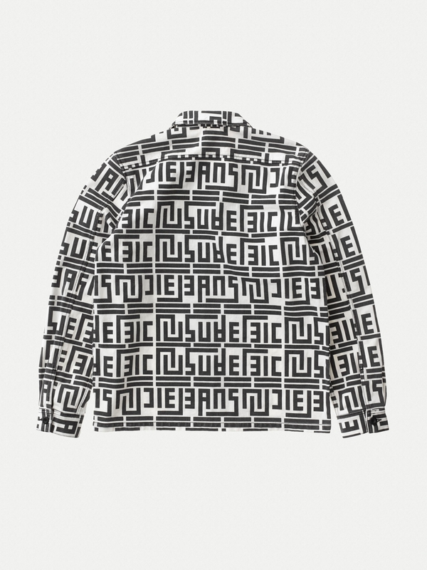Sten Zip Graphic Print