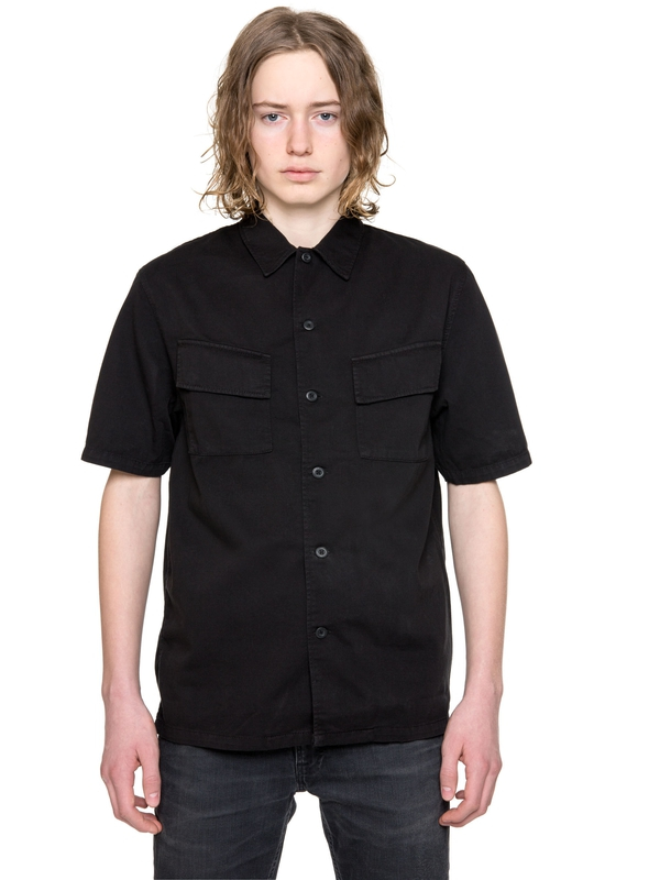 Svante Overdyed Black shirts