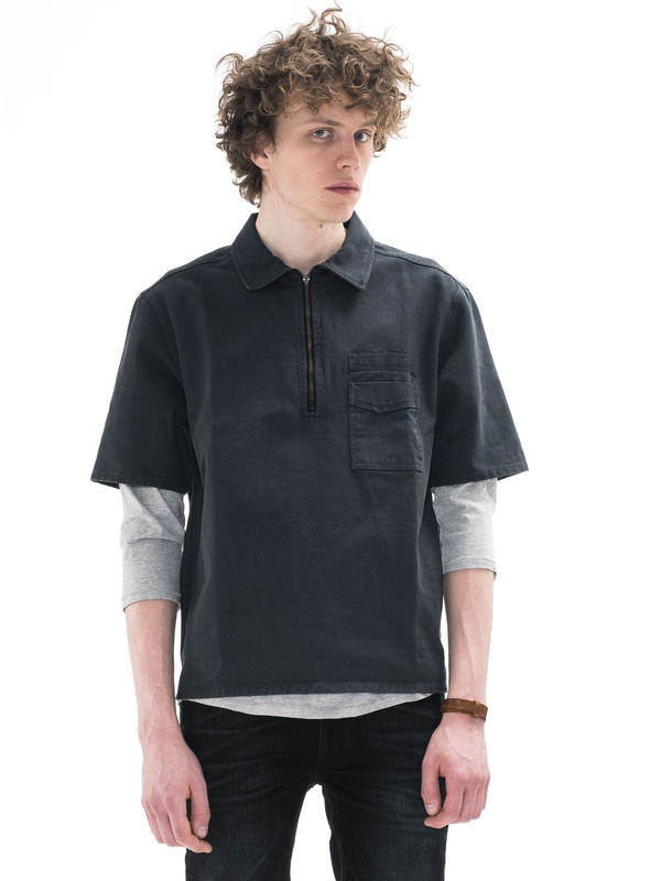 Svante Zip Fern shirts