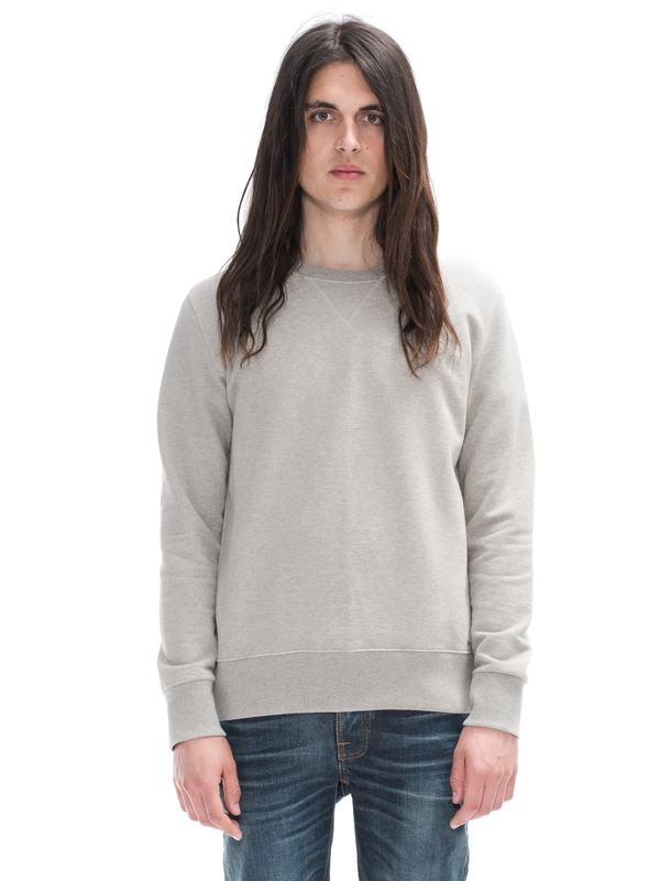 Sven Melange Light Grey regular sweaters