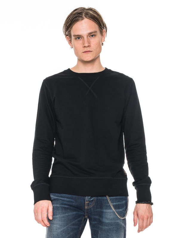 Sven Light Sweatshirt Black sweatshirts sweaters