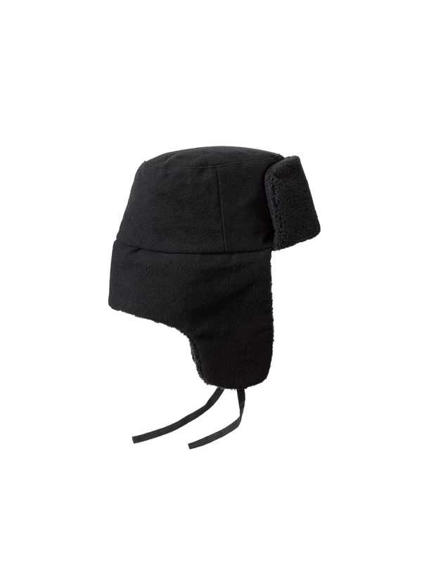 Svensson Wool Trapper Hat Black hats accessories