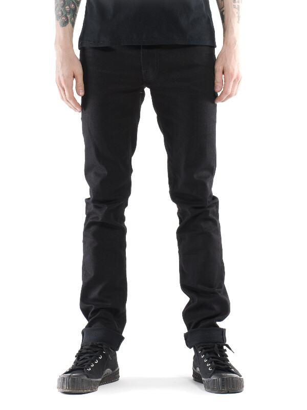 Thin Finn Black Ring black jeans