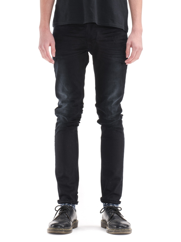 Thin Finn Black Smoke black jeans